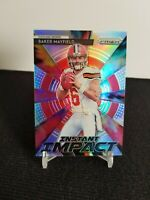 2018 Panini Prizm #II-1 Baker Mayfield Instant Impact Silver Prizm RC Rookie