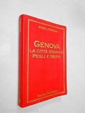 GENOVA la città storica guida d'italia TCI 1998