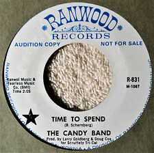 The Candy Band Time to Spend 45 NM Classic Rock 2-Sider Something in My Life