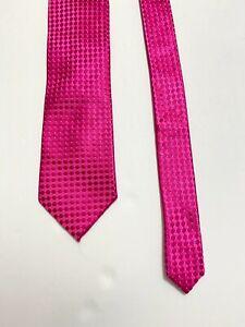 Donald  Trump President Signature Collection Silk Necktie woven pink