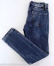 Jeans Diesel Mädchen Hose Denim gerades Bein blau GR. 134/140