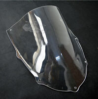 Clear Windshield Windscreen For Aprilia RS125 99-05 Black 01 02 03 04 RS50 RS250