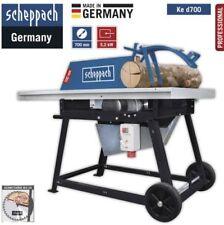 """Scheppach Rolltischkreissäge, """"ke d700"""", 5,2KW, 380-420V/50Hz, mit HW-Sägeblatt,"""