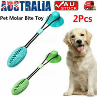 Suction Ball Pup Tug Toy Multifunction Pet Molar Bite Teeth Cleaner Dog Chew Toy