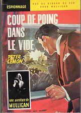 COUP DE POING DANS LE VIDE (AVENTURE DE MULLIGAN) COUVERTURE JEF DE WULF
