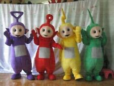New Teletubbies TV Cartoon Character Teletubby Mascot Costume Fancy Dress Party