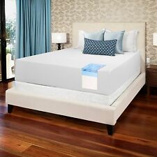 Memory Foam Mattress Gel 14 Inch Thick Queen Size Medium Firm Sleep Bed Room