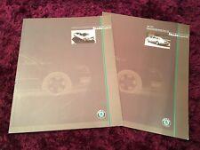 Skoda Superb Brochure 2002 - UK Issue + 2002 Prices & Specs booklet