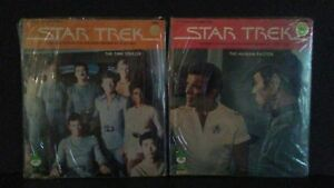 Peter Pan records 2 Star Trek 1979 sealed the time stealer the human factor..