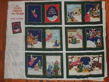 THE NIGHT CHRIST WAS BORN FABRIC PANEL SOFTBOOK 1994 # 5339 SEW CRAFT