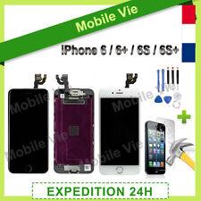 BLOC COMPLET VITRE TACTILE ECRAN LCD IPHONE 6/6+/6S/6S PLUS NOIR/BLANC + OUTILS