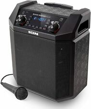 Lautsprecher ION Audio Block Rocker Plus Tragbarer Bluetooth 100 Watt Schwarz