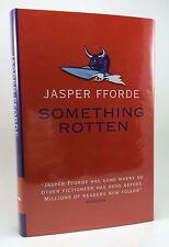 JASPER FFORDE Something Rotten UK 1st/1st Signed HB/DJ