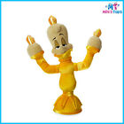 """Disney Beauty and the Beast's Lumiere 13"""" Plush Doll Toy brand new with tags"""