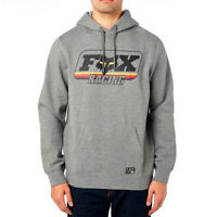 Fox Racing Men's MX Throwback Pullover Fleece Hoody Heather Grey Adult Medium