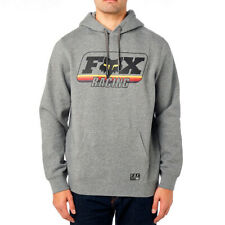Fox Racing Men's MX Throwback Pullover Fleece Hoody Heather Grey Adult 2XLarge