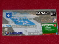 [COLLECTION SPORT FOOTBALL] TICKET AUXERRE / PSG  4 NOVEMBRE 2000 Champ.France