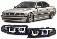 N 20 LED T5 5000K CANBUS 5050 headlights Angel Eyes DEPO BMW series 5 E39 1D2US