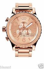 Nixon Original 51-30 Chrono A083-897 All Rose Gold Tone 51mm Watch