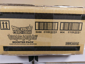 Dragon Ball Super TCG Vermilion Bloodline BOOSTER CASE SEALED 12 BOXES NEW!!!