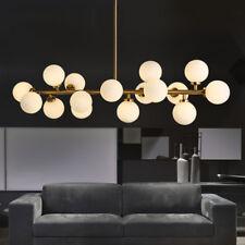 Modern Glass Globes Chandeliers Light Industrial Pendant Light Ceiling Fixtures