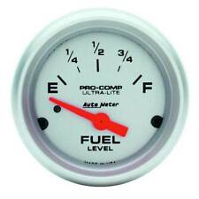 "Autometer Ultra-Lite 2-1/16"" Fuel Level 0-90 Ohm Gauge for Chevrolet/GM 65-97"
