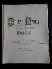 ETIENNE MARCEL / VALSE / BALLET