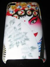 Geisha Hard Cover Case for iPod Touch 4th Gen Colorful Geisha w/ fan Case