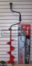 16000 ESKIMO ICE FISHING 6 INCH CURVED SILVERTIP HAND  AUGER SALES MODEL