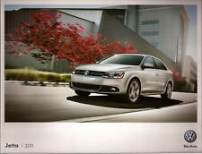 2011 11 VW Jetta original  brochure MINT