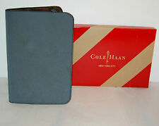 New $80 Cole Haan Reflective Black Kindle Cover Leather Key/Fire