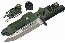 Szco Supplies M-9 Bayonet Stainless Steel Blade Handle is ABS with Sheath New