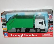Newray - MAN F2000 REFUSE TRUCK (White/Green) Die Cast Lorry Model Scale 1:43