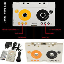 Auto Car Telecontrol Tape Cassette SD MMC MP3 Player Adapter Kit Remote Control