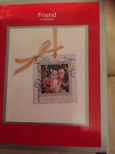 New,Heirloom ornament Friends Christmas tree Photo Frame 2013,46 x 46 cm in box