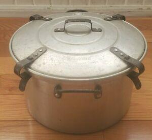 Rare Vintage Lifetime Waterless Automatic Pressure Cooker 1927 Lock Down 666-999