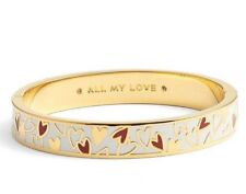 Kate Spade All My Love Hearts Hinged Bracelet NWT Fun! Flirty! Show Your Love!
