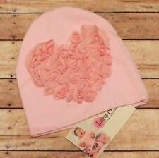 Lollipop Moon Baby Pink Love Beanie  0-12 Months