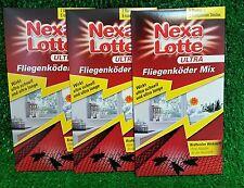 3x Nexa Lotte ULTRA FLIEGENKÖDER MIX (2 Blumen +6 Streifen) gratis Versand in DE
