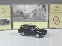 Wiking C&I Sondermodell 55 Jahre VW Typ 3, VW 1600 Variant schwarz