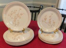 Corning China Blossom 8 dinner plates & 8 salad plates Cornerstone Corelle