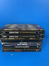 6 QTY Empty Steel Books REPLACEMENT CASES