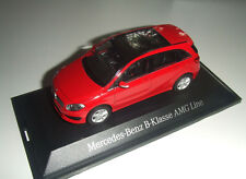 Mercedes benz W 246 B Class Facelift 2015 Jupiter Red 1:43 New Original Package