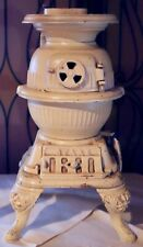 """Antique Very Rare 14"""" Salesman's Sample Spark Doll Sized Pot Belly Stove"""