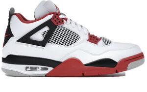 Nike Air Jordan IV / 4 Retro Fire Red 2020 US9,5UK8,5 EUR 43 NEU / DEADSTOCK