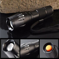 2200LM CREE XM-L T6 LED Zoomable Flashlight 18650/AAA Foucus Torch Lamp Light