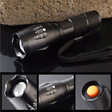 2200LM CREE XM-L T6 LED Zoomable Flashlight 18650/AAA Foucus Torch Light