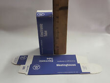 10 Westinghouse Vacuum Tube Boxes, 6SN7GT size (Cheaper than white tube boxes)