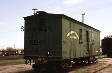 Prairie Dog Central Box Car Winnipeg Jun 83 Original Kodachrome Slide-Railroad