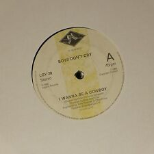 "BOYS DON'T CRY 'I WANNA BE A COWBOY' UK 7"" SINGLE"